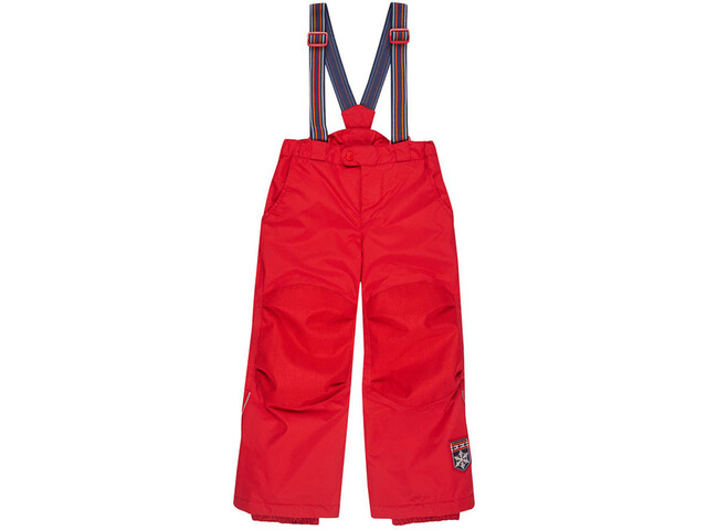 Finkid Romppa Plus Pantalones de Invierno Niños, red